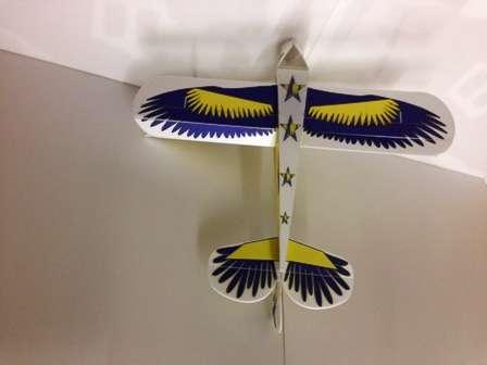 Christen Eagle Depron - Modro-Žlutý Ivanika - models