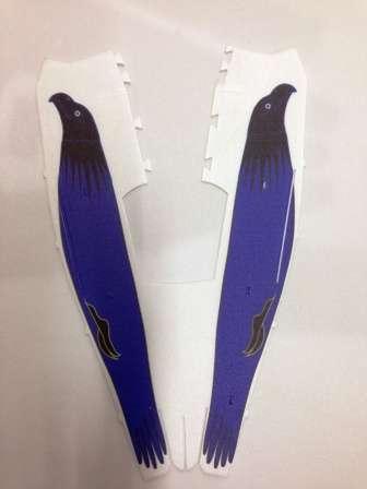 Christen Eagle Depron - Modro-Černý Ivanika - models