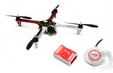 F450 + Naza-M Lite + GPS + podvozek DJI