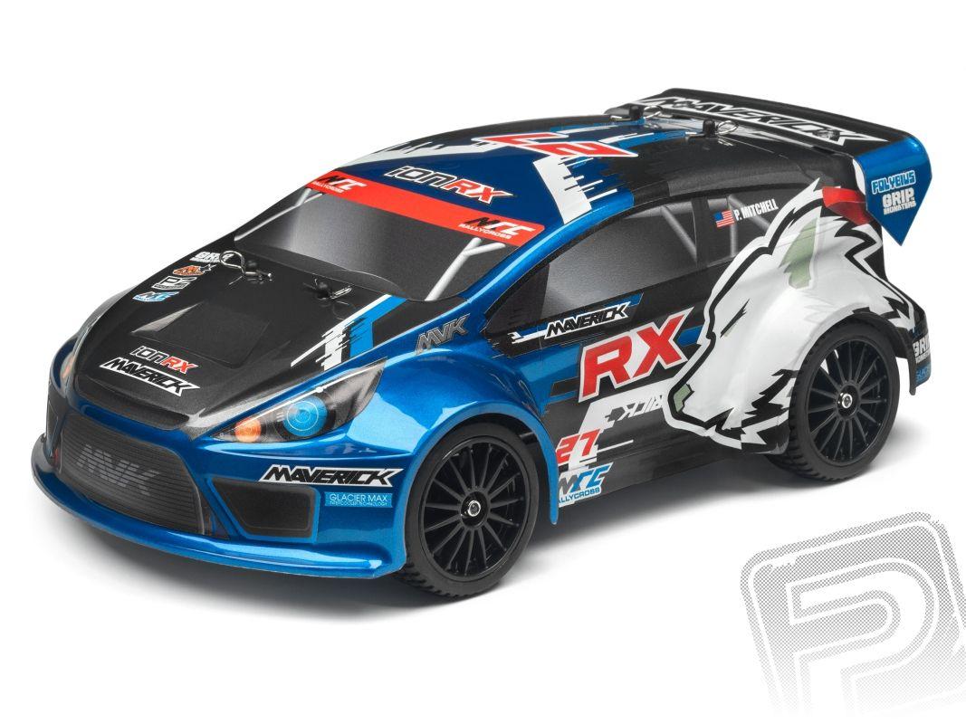 MAVERICK ION RX 1/18 RTR Rallye s 2,4GHz RC soupravou HPI