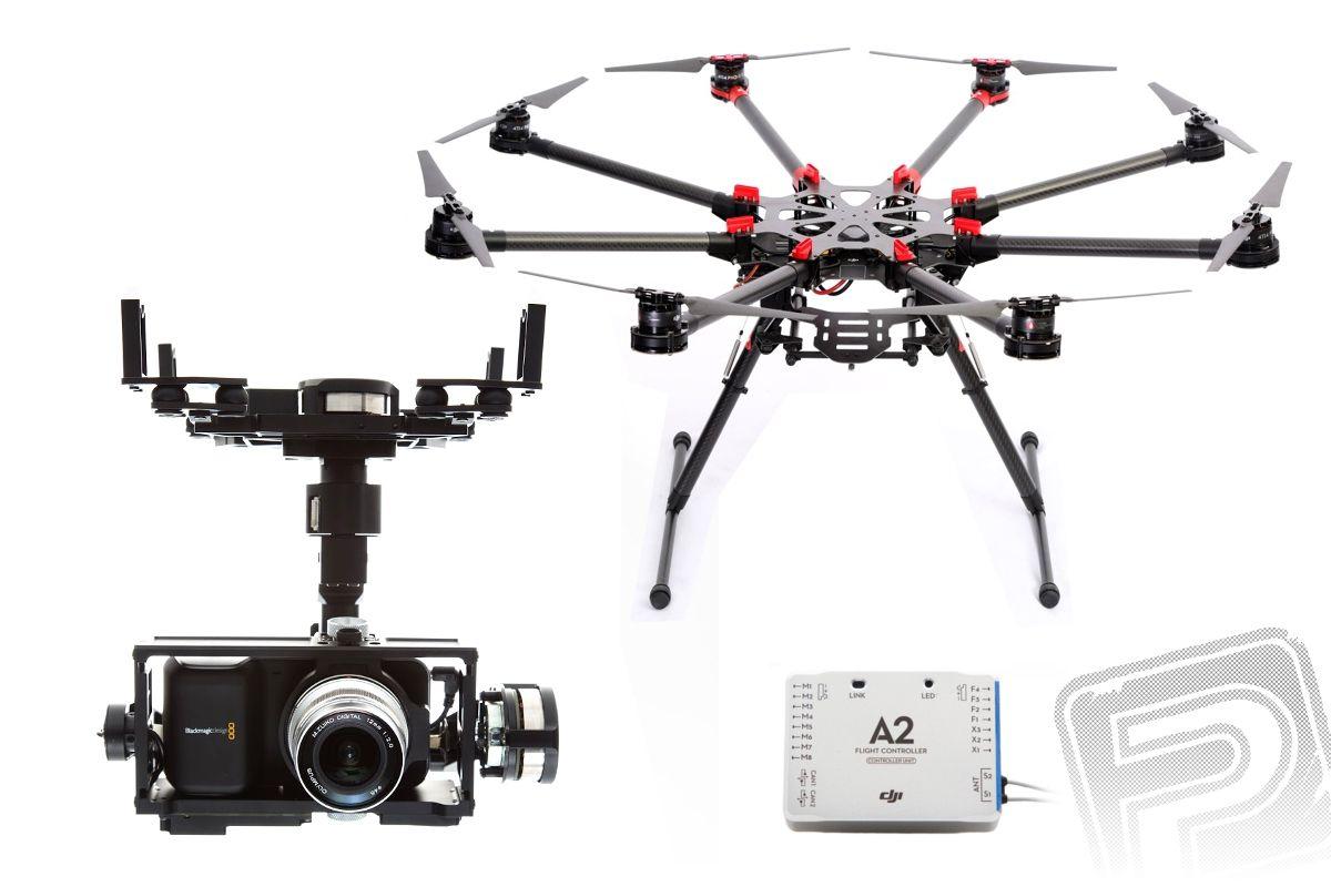 S1000 Profi + A2 + Z15 (BMPCC) + Z15 ZDARMA DJI PROFI