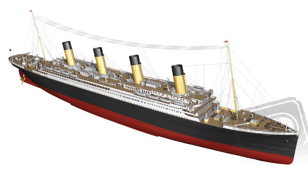 Titanic 1:144 pelikan