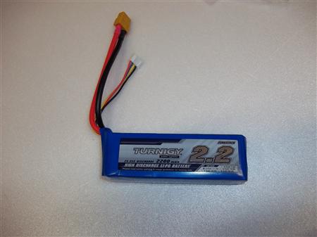 Baterie Turnigy 2200mAh 3 článek Lipo 25 až 35C